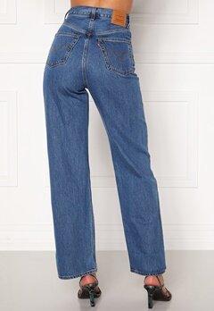 LEVI'S High Loose Jeans 0002 Lazy Sunday Bubbleroom.se