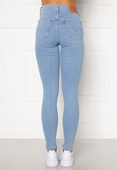 LEVI'S Mile High Super Skinny Jeans 0181 Galaxy Hazy Day Bubbleroom.se