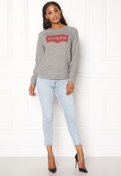 LEVI'S Relaxed Graphic Crew 0000 Batwing smoke Bubbleroom.fi