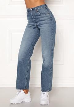 LEVI'S Ribcage Straight Ankle Jeans 0019 Jive Swing Bubbleroom.se