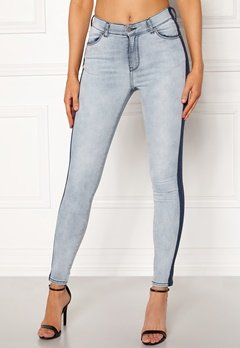 Dr. Denim Lexy Skyline Blue Bubbleroom.se