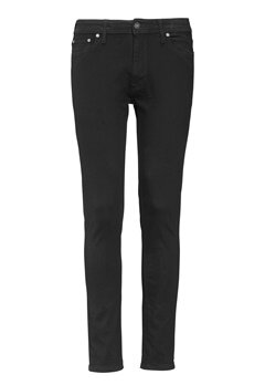 JACK&JONES Liam 009 original Jeans Black Denim Bubbleroom.se