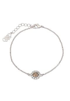 LILY AND ROSE Celeste Bracelet Diamond Grey/silver Bubbleroom.se