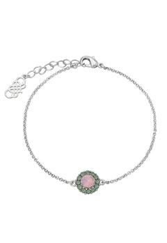 LILY AND ROSE Celeste Bracelet Rainbow/silver Bubbleroom.se