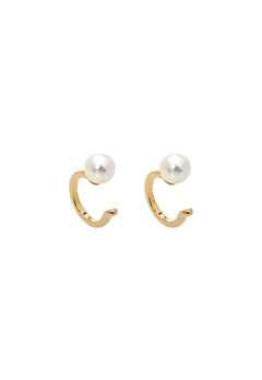 LILY AND ROSE Kennedy Cuff Earrings Ivory Bubbleroom.se