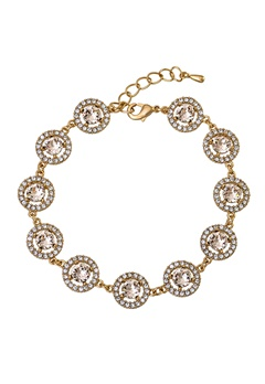 LILY AND ROSE Miranda Bracelet Light Silk/gold Bubbleroom.se