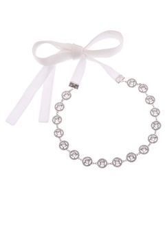 LILY AND ROSE Miranda Hairband Crystal Bubbleroom.se