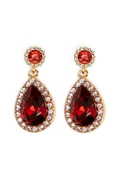 LILY AND ROSE Miss Amy Earrings Scarlet Bubbleroom.se