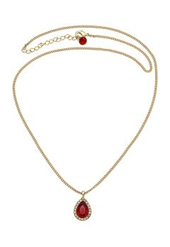 LILY AND ROSE Miss Amy Necklace Scarlet Bubbleroom.se