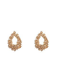 LILY AND ROSE Petite Alice Earrings Light Colorado Topaz Bubbleroom.se