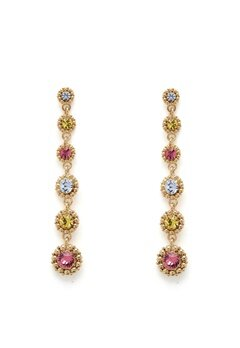 LILY AND ROSE Petite Celeste Earrings Rose Bubbleroom.se