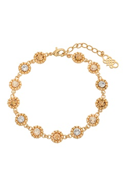 LILY AND ROSE Petite Kate Bracelet Golden Shadow Bubbleroom.se