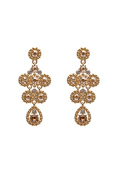 LILY AND ROSE Petite Kate Earrings Champagne Bubbleroom.se
