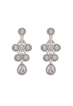 LILY AND ROSE Petite Kate Earrings Crystal Bubbleroom.se