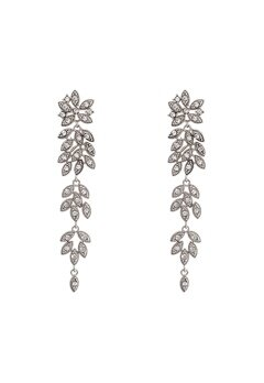 LILY AND ROSE Petite Laurel Earrings Crystal Bubbleroom.se