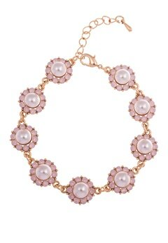 LILY AND ROSE Sofia Pearl Bracelet Rosaline Bubbleroom.se