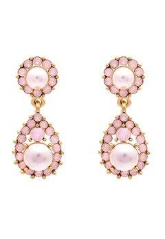 LILY AND ROSE Sofia Pearl Earrings Rosaline Bubbleroom.se