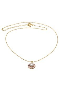 LILY AND ROSE Sofia Pearl Necklace Rosaline Bubbleroom.se