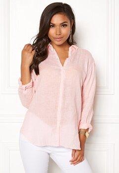 Boomerang Linn Linen Shirt Chalk Pink Bubbleroom.se