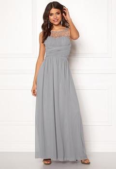 Little Mistress Anna Pearl Dress Grey Bubbleroom.se