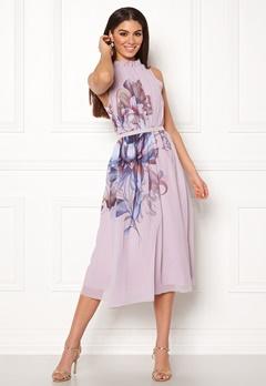 Little Mistress Blush Midi Dress Blush Bubbleroom.se