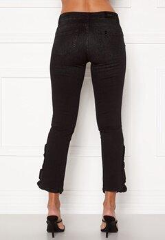 Liu Jo Ruffle Jeans 87204 Den.Black Bubbleroom.se