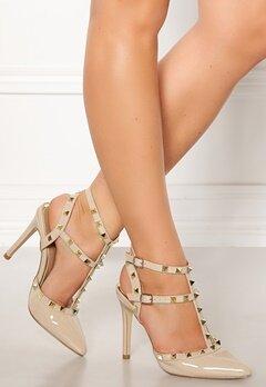 Truffle Liw High Heel Sandals Nude Bubbleroom.se
