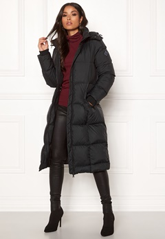 GANT Long Down Coat 5 Black Bubbleroom.se
