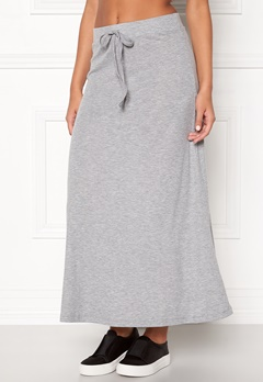 VERO MODA Lony Ankle Skirt Light Grey Melange Bubbleroom.fi