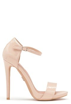 LOST INK Blossom Stiletto Sandal Nude Bubbleroom.se