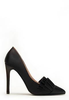 LOST INK Gabbi Ruffle Shoe Black Bubbleroom.se