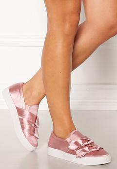 LOST INK Hally Side Bow Slip On Pink Bubbleroom.se