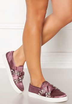 LOST INK Kara Jewel Bow Slip On Pink Bubbleroom.se