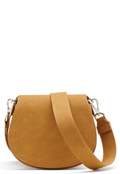 OBJECT Louis Faux Suede Bag Cognac Bubbleroom.se