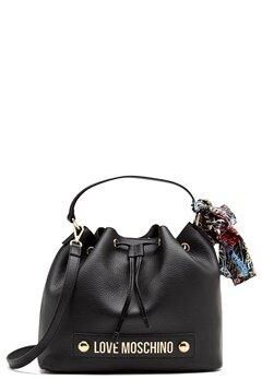 Love Moschino Love II Bag Black Bubbleroom.se
