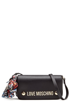 Love Moschino Love M II Bag Black Bubbleroom.se