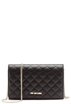 Love Moschino Love M Small Bag Black Bubbleroom.se