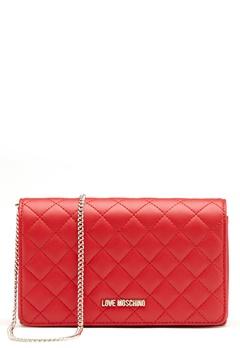 Love Moschino Love M Small Bag Red Bubbleroom.se