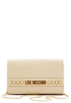 Love Moschino Evening Bag 110 Ivory Bubbleroom.se