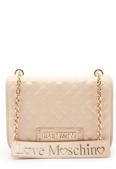 Love Moschino Evening Bag Ivory Bubbleroom.se