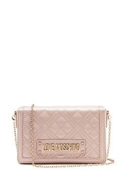 Love Moschino Evening Bag Pink Bubbleroom.se