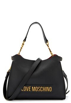 Love Moschino Lettering Bag 000 Black Bubbleroom.se