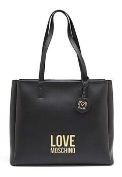 Love Moschino Love Moschino Lettering Bag 00A Black Bubbleroom.se