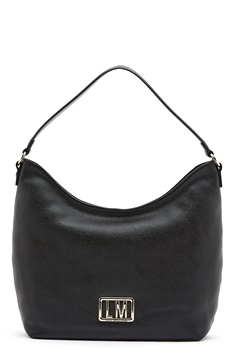 Love Moschino Love Moschino Matal Logo Bag 000 Black Bubbleroom.se
