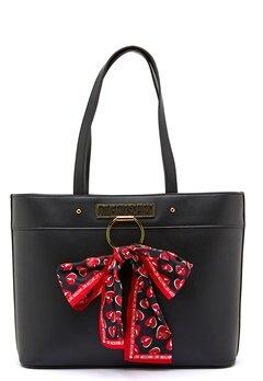 Love Moschino Love Moschino Scarf Bag 000 Black Bubbleroom.se