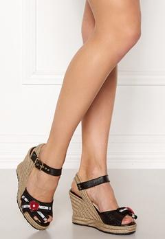 Love Moschino Moschino Shoes Black Bubbleroom.se