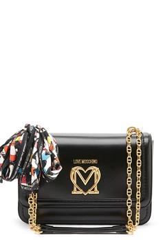 Love Moschino New Love Moschino Scarf Bag 000 Black Bubbleroom.se