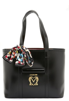 Love Moschino New Love Moschino Scarf Bag 000 Black Bubbleroom.se