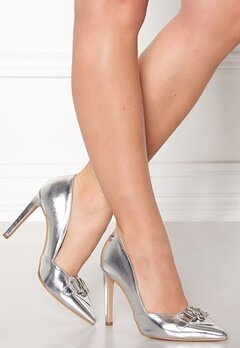 Love Moschino Pumps 902 Silver Bubbleroom.se