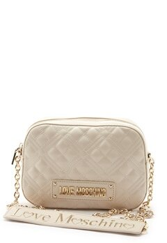 Love Moschino Quilted Bum Bag Ivory Bubbleroom.se